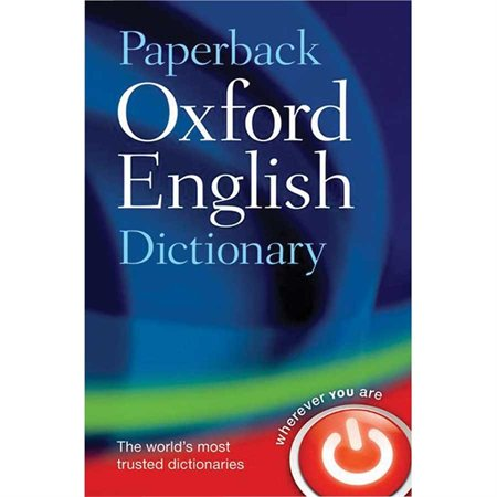 Canadian Oxford Paperback English Dictionary