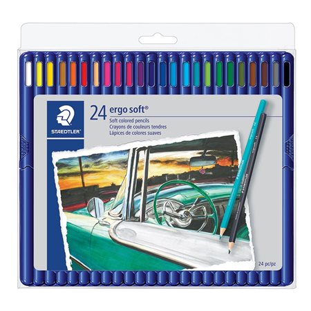ergo soft® 157  Triangular Wooden Colouring Pencils