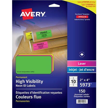 Étiquettes fluorescentes
