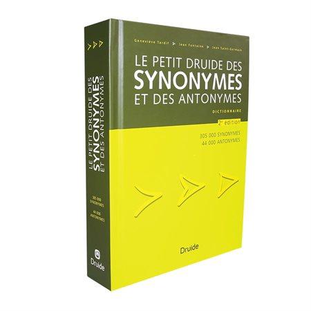 Dictionnaire Le Petit Druide des synonymes