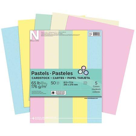 "Cartes ""Exact Pastels"""