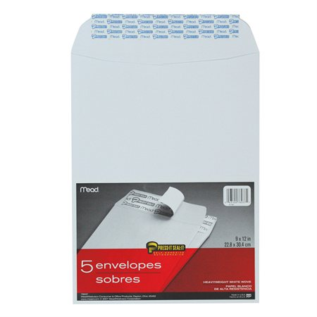 Enveloppe blanche Press-it Seal-it®